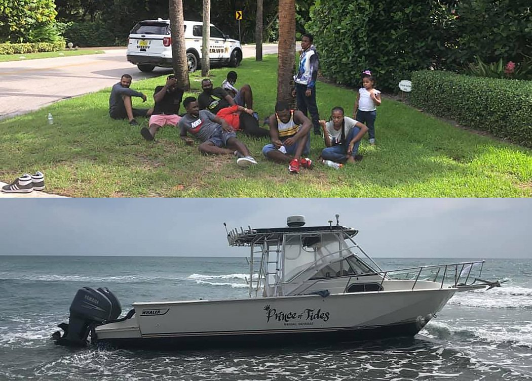 Boat with 30 Hatians comes ashore in Martin County
